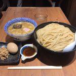 大崎デカ盛り!「六厘舎」で得製つけ麺・特盛・シュリンプ(海老香味油)!