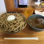 東新宿デカ盛り!「徳川膳武」でカレーつけ麺・特盛・豚増し・温玉!