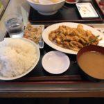 日比谷大盛りランチ!「謝謝ラーメン(しぇしぇらーめん)」で豚キムチ定食!