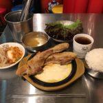 大盛り韓国ランチ!「韓豚屋 有楽町店」でサムギョプサル・チーズ!