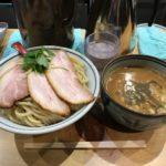 新橋つけ麺!「煮干麺 月と鼈(すっぽん)」で濃厚煮干し・特製肉玉・特盛!