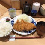 東京駅とんかつ!「寿々木(すずき)」で上ロースかつ定食・大盛りご飯!