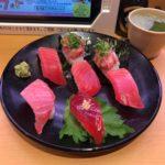 上野回転寿司!「スシロー」で人気メニュー(盛り合わせ・ラーメン・デザートなど)!
