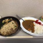 【閉店】激安立ち食いそば!新橋「ポンヌッフ」でカレーセットメニュー・大盛り!