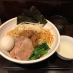 神田汁なし担々麺!「ほうきぼし」で特製メニュー・大盛り!