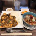 神田担々麺!「雲林坊(ゆんりんぼう) 日本橋室町店」で麻婆豆腐丼セット・大盛り!