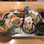 デカ盛り牡蠣小屋!「飛梅 神田西口店」でかき飯スーパーDXセットランチ・大盛り!