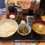 【すき家編】チェーン店の朝食・モーニングメニューを大盛り調査!