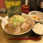 超極太麺!秋葉原「超ごってり麺 ごっつ」でデカ盛りセットメニュー!大盛り・水餃子・ライス!
