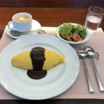 オシャレグルメ!上野広小路「厳選洋食さくらい」でオムライスセットメニュー・デミグラスソース!