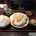 デカ盛りランチ!「てけてけ」でチキン南蛮定食メニュー・ご飯特盛!