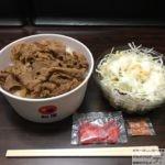 【テイクアウト】「松屋」の持ち帰りメニューで牛めし・生野菜サラダ!