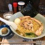 蔵前ラーメン!浅草橋「昆布の塩らー麺専門店 MANNISH(マニッシュ)」で大盛りメニュー・味変味噌だま!