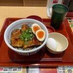 【豚角煮丼】なか卯の季節限定メニュー・大盛りを世界一詳しく調査しました!