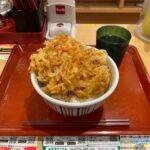 【デカ盛り】なか卯で特製かき揚げ丼・特盛を世界一詳しく調査しました【店舗限定メニュー】