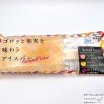 【セブンイレブン】ゴロッと果実を味わうアイスバー Autumn Picnic【新作アイス】